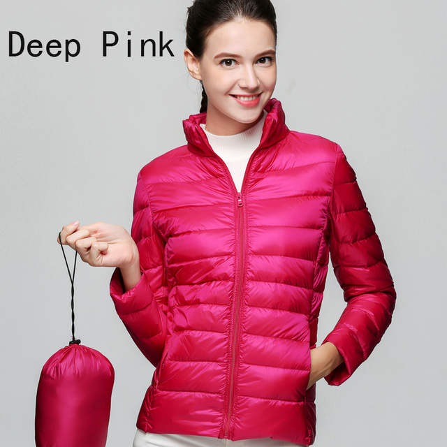 Ultra Light 90 % White Duck Down Jacket  – Plus Size 3XL
