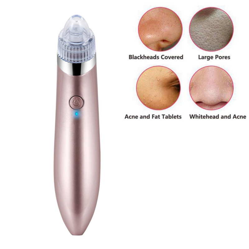 1 pcs Comedo Blackhead Vacuum Suction Diamond Removal Wrink Acne Pore Peeling Face Clean Facial Skin Care Beauty Machine Hot
