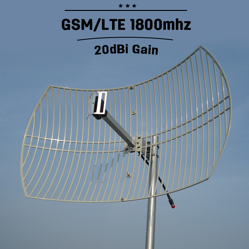 20dBi Outdoor Grib Antenna 2G 3G CDMA UMTS 1800mhz Mobile GSM 1800mhz External Mobile Phone Signal Antenna N Connector 40