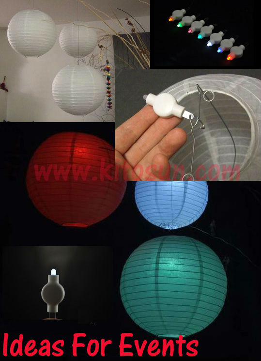 Aliexpress Kitosun100pcs Pack Reusable Flyte Decorative Accents Paper Lantern Led Light From Reliable Holiday Lighting Suppliers On Factory