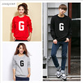 2017 Plus Size Men's Women'S Clothing Hoodies Sweatshirts Hoodie Cotton print G Black Red Grey Hoody Sweatshirts Hoodies