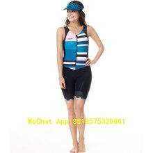 triathlon Women safetti High quality Small shoulder straps skinsuit Short Sleeve cycling jersey swimsuit speedsuit jumpsuit