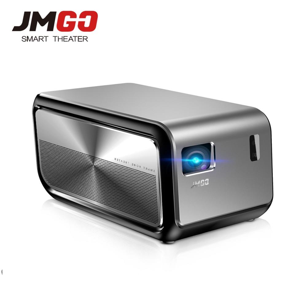 JMGO J6S Android DLP 1100 lúmenes ANSI Proyector 1080 p Full HD Proyector soporte 4 K vídeo Wifi HDMI Bluetooth TV Digital portátil
