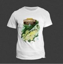 2017 Summer Newest Men T-Shirt All Kinds Of Fish Print T Shirt Short Sleeve Geico Bassmaster Classic Design Clothing Modal Tops