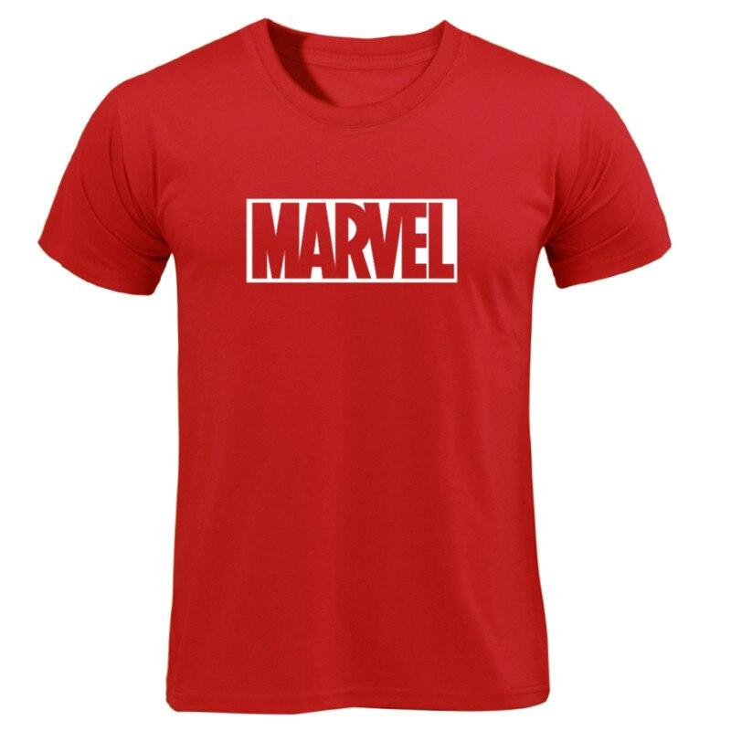 MARVEL T-Shirt 2019 New Fashion Men Cotton Short Sleeves Casual Male Tshirt Marvel T Shirts Men Women Tops Tees Boyfriend Gift 29