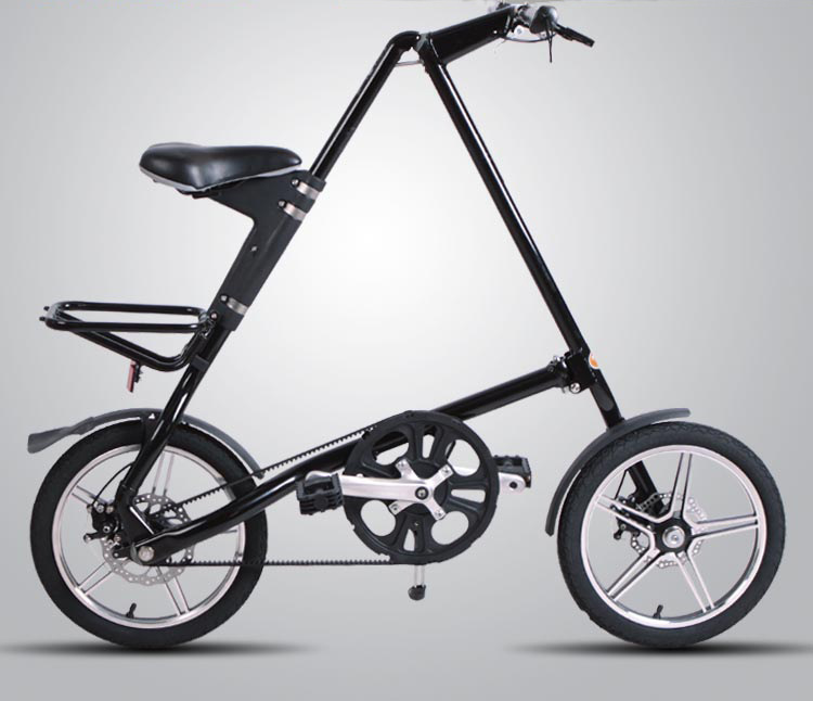 14 inch/16 inch paduan Lipat travel Mini Sepeda BMX sepeda
