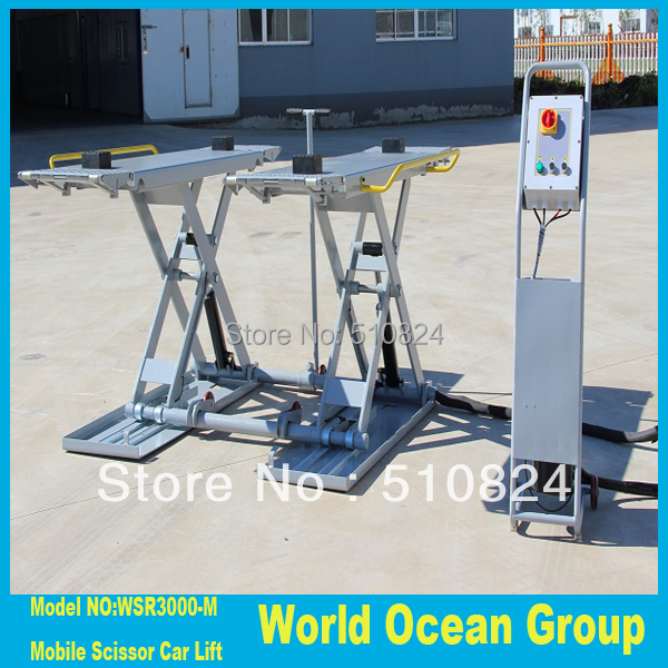 US $1270 0 |Mobile scissor car lift WSR3000 M portable car hoist-in Car  Jacks from Automobiles & Motorcycles on Aliexpress com | Alibaba Group