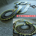 1:43 636cm Electric rail  car  track set double RC dual Track racing car high speed  kids toys