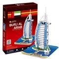 The World Famous Building Model 3D puzzle three-dimensional model of Dubai Burj Al Arab Hotel for Children Educational Bricks
