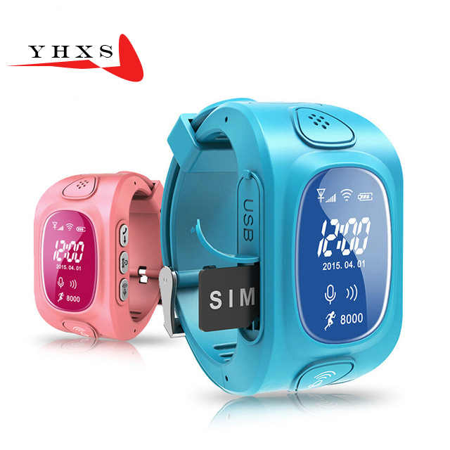Y3 OLED Screen GPS WIFI Smart Kid Safe Watch SOS Call Location Finder Tracker for Child