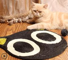 Cartoon Cat Scratch Board Cat Claw Grinding Board Promotion Pet Scratcher Toy