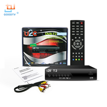 Nueva U2C Smart TV Caja DVB T2 STB DVB-T2 H.264 MPEG-4 Reproductor de Medios HD 1080 P 1080i TV Digital Terrestre Receptor Televisor
