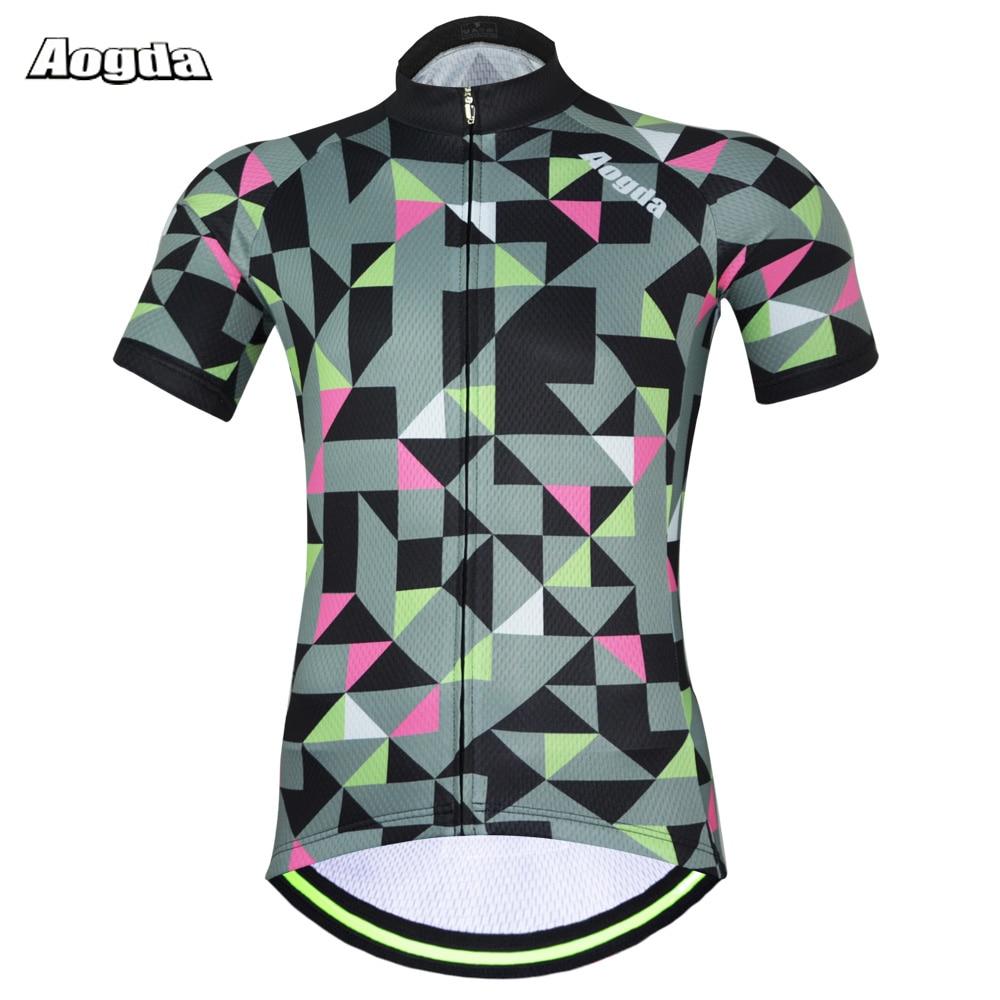 2017 Hot Aogda Top Quality Short Sleeve Cycling Jersey Tight Short - Cycling