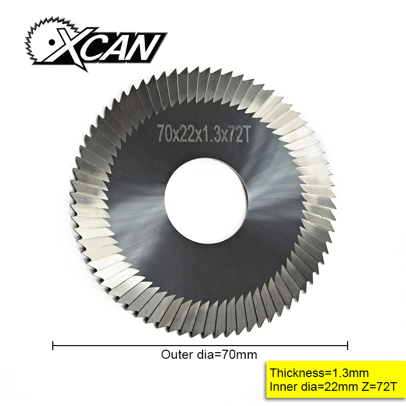 XCAN 70*22*1.3 Mm Carbide Key Cutting Machine Blade For Key Blade Cutting Locksmith Tools Professional Lock Picks
