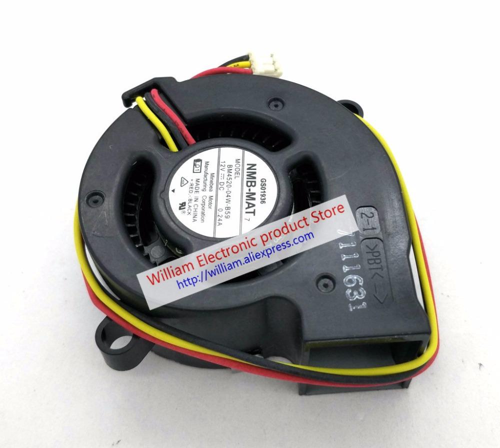 BM4520-04W-B59 NMB-MA 4520 454520mm projector blower cooling fan