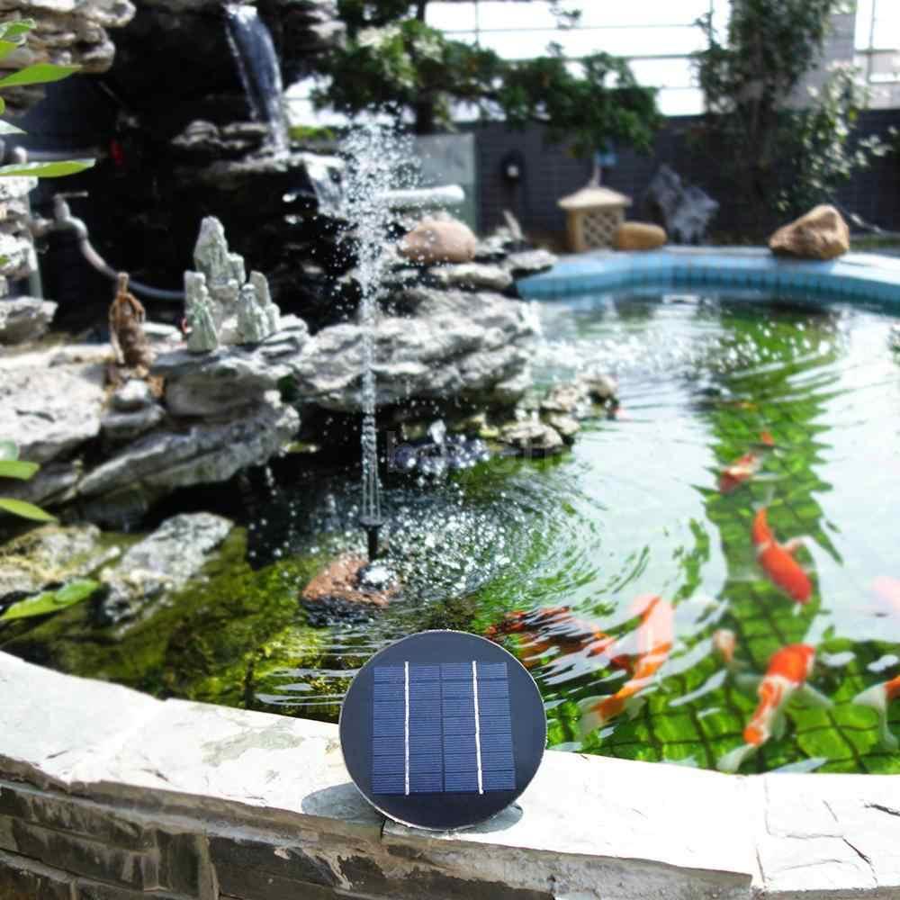 Водонепроницаемый Солнечный стоящий фонтан воды Пруд бассейн носик Патио Украшение сада Птица Ванна водяной насос солнечные фонтаны фонтаин