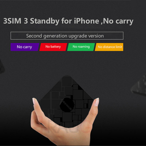 Image 4 - 3 Sim 3 Standby Box Simadd Activate Online At The Same Time For iPhone 6/7/8/X Plus Home No Roaming Abroad Support Android Phone