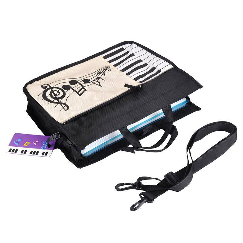 Portable Musical Handbag High Quality Music Score Keyboard Patter Appliance Musical Bags Free Shipping