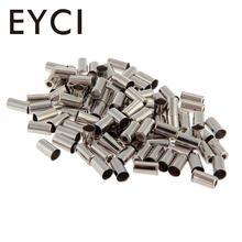 EYCI, 100 шт., Велосипедный тормозной кабель с металлическим наконечником, колпачки для велосипедного кабеля, запчасти для велосипеда, Аксессуары для велосипеда