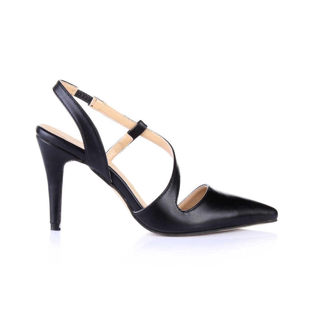 Sexy Gladiator Fashion Cut-outs Hot Sale Summer Pointed Toe Pumps Closed Toe Thin High Heels Women Wedding Party Sandals Shoes 2017 hot sale fashion new women shoes pointed toe transparent pvc party shoes women casual high heels pumps shoes 596