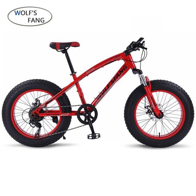 Bicicleta Mountain bike 7/21 velocidade bicicletas de Estrada Neve Gordura 20*4.0 Dianteira e Traseira Freio A Disco Mecânico Novo Livre grátis