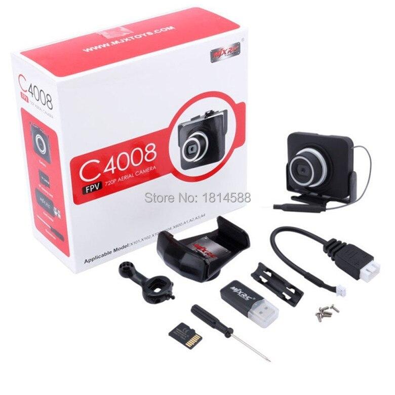 MJX C4008 FPV WIFI Camera for X101/X102/X103/X104/X600/A1/A2/A3/A4 RC Quadcopter Camera free shipping mjx x101 2 4g 3d roll fpv wifi rc