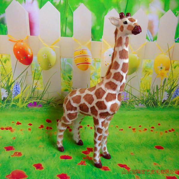 big new simulation giraffe toy polyethylene & furs creative giraffe model about 56x29cm 015 big simulation penguin toy polyethylene