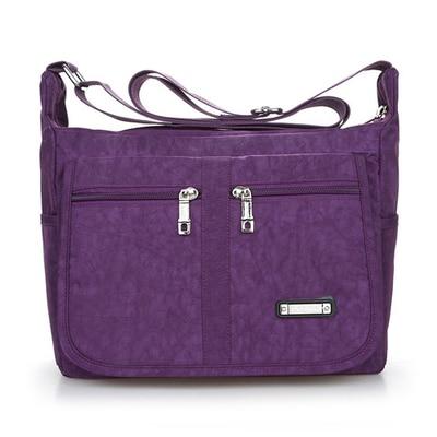 New All-match Shopping Traveller Handbags!Hot Women Nylon Shoulder&Crossbody bag Top Versalite carved one-shoulder cross bags