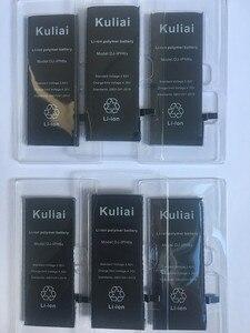 Image 4 - Nuevo Original Kuliai AAAAA calidad batería del teléfono para iphone 6 6s 6sp 6 P 7 p de alta capacidad Real cero Cycel con kit de herramientas de reparación