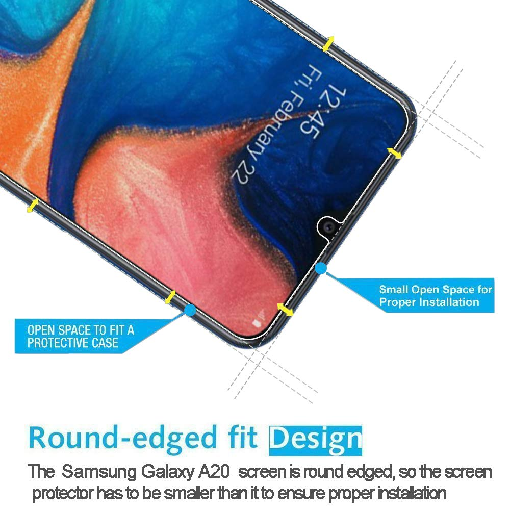 9H Tempered Glass Film for Samsung Galaxy A50 A20E M10 M20 M30 A10 A20 A30 A40 A60 A70 A80 Screen Protector 2 5D Ultra thin in Phone Screen Protectors from Cellphones Telecommunications