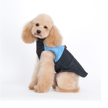 30pcs New Winter Warm Pet Dog Clothes Small Waterproof Dog Coat Jacket Winter Quilted Padded Puffer Pet Clothes 6 colors WA1420