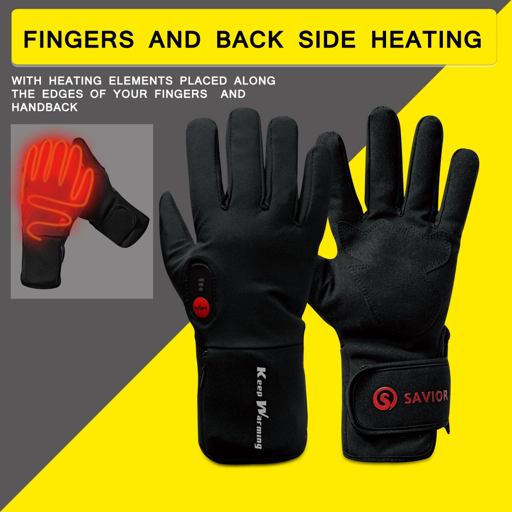 EIGDAY heating outdoor heated glove cycling riding electric winter warm gloves 3 levels control anti freeze battery 45-60 degree savior s 16 lithium battery electric heating winter gloves for skiing riding cycling low temperature men women