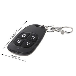 Image 5 - Copy Remote Control 433MHz 315MHz Cloning Duplicator Wireless 4 Keys Universal Waterproof Handle Garage Gate Electric Door Key