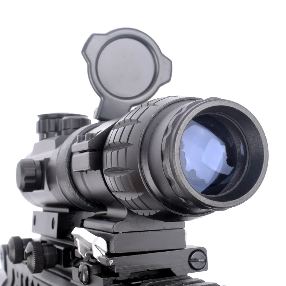 WIPSON Optic sikt 3X Magnifier Scope Kompaktjakt Riflescope Sights - Jakt - Foto 3