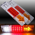 2pcs Trailer/Truck 19 LED Tail Lamp, 12V Ultra Bright LED Truck Tail Light, 1.5W LED Trailer/Truck Accessories