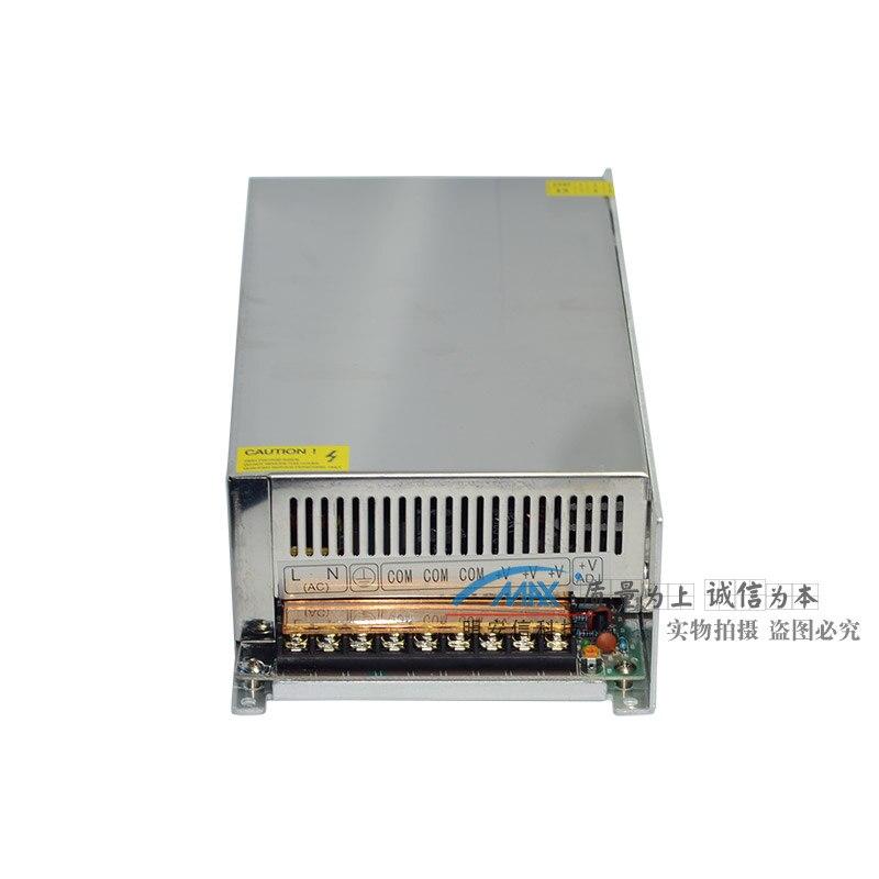 220 V à 12V40A alimentation à découpage 500 W haute puissance surveillance lampe à LED avec publicité lampe boîte DC transformateur