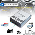 Lonleap CD Changer USB SD AUX Carro MP3 Adapte para Volvo HU-série C70 S40/60/80 Carregador de Interface Car Styling V70 XC70 partes