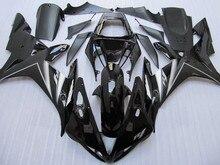 Hi Quality Motorcycle Fairing kit for YAMAHA YZFR1 02 03 YZF R1 YZF1000 2002 2003 ABS Top gloss black Fairings set+Gifts YF28