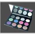 2016 New Brand Diamond Eyeshadow Palette For Women Long Lasting Bling 12 Color Eye Makeup Eyeshadow Cosmetic Set Kit
