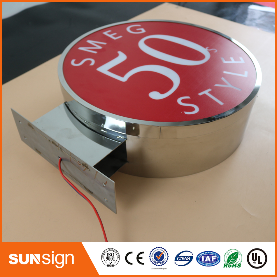 Custom Led Advertising Lettre Lumineuse Led Light Box Letters
