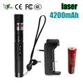 Military 532nm 5mw 303 Green Laser Pointer Lazer Pen Burning Beam for 18650 Battery Burning Match