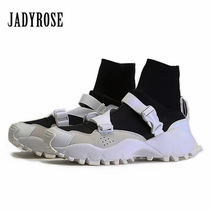 Tops Top Top Jady Chaussures High Plate Espadrilles Chaussette Creepers Rose Sneakers forme Appartements Plat Casual Top Low Top multi Femelle black Tenis Feminino White white Bottes Femmes Haute black qwRTw4