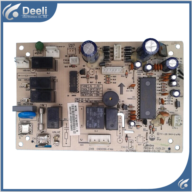 95% new good working for Midea air conditioning motherboard  KFR-71LW/DY-S control board on sale 95% new good working for midea air conditioning display board remote control receiver board kfr 26gw bpy r d 3 1 1