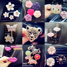 car interior air conditioning air outlet perfume type car perfume clip car interior accessories ornaments creative pendant 2pcs