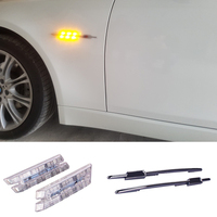 2pcs Car LED Side Turn Signal Lamp LED Marker Light 12V Light Bulb Kit For BMW