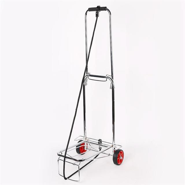 Folding Hand Truck with Strap for Luggage 50 Kg/110 Lbs