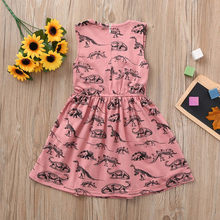 e3e923edbbac8 Girls Dinosaur Print Dress Promotion-Shop for Promotional Girls ...