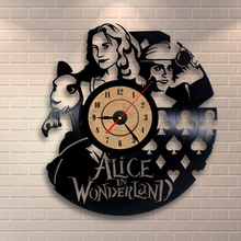 2018 Hot CD Vinyl Record Wall Clock Modern  Theme Decorative Black Art Watch Clock Relogio