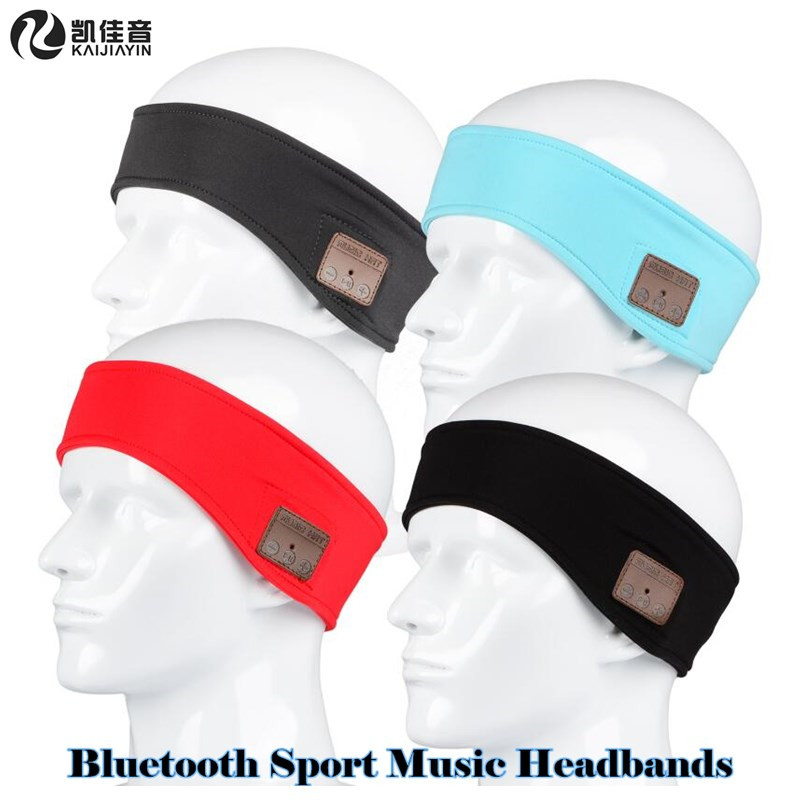 200pcs! Men&Women Summer Outdoor Sport Wireless Bluetooth Earphone Stereo Magic Music Headbands Headphone for iPhone Smart Phone