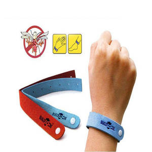 Bug Repellent Bracelet Bug-Lock Insect-Nets Wrist-Band Safe Anti-Mosquito Outdoor Camping
